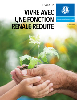 Cover of book one, Living with reduced kidney function